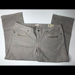 Gap Limited edition zippered front pocket capri 14